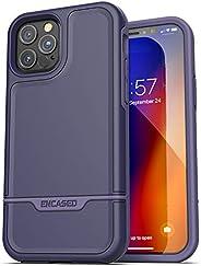 Encased iPhone 12 Pro Max 保护套紫色(2020 Rebel Armor)*级全身坚固保护套