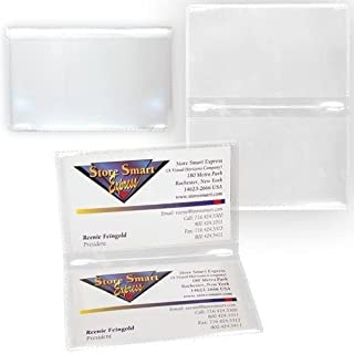 StoreSMART - 透明背面自动保险和身份证卡包 - 单包 - RFS20-CL1
