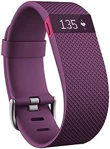 Fitbit Charge HR 智能手环 心率实时监测 自动睡眠记录 来电显示 运动蓝牙手表计步器 紫色 S FB405PMS-CN