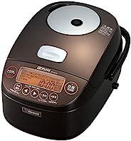 象印 炊飯器 5.5合 圧力IH式 極め炊き 鉄器コートプラチナ厚釜 ブラウン NP-BH10-TA 需配變壓器