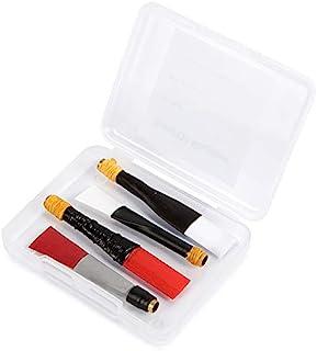 Bagpipe 练习管哨片 4 件装混合品牌 Frazer Warnock、G1 哨片、Pipedreams(Ezeedrone)、Trutone 装在可重复使用的赤脚袋笛盒中。 苏格兰和爱尔兰风笛管哨片哨片