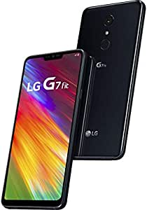 "LG G7 Fit 32GB 6.1\"" 智能手机 - GSM+CDMA 工厂解锁适用于所有运营商- Aurora Black(美国保修)"