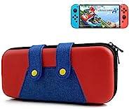 Nintendo Switch 便携包,EVA Switch 便携保护套便携式旅行保护套兼容 Nintendo Switch 控制台和配件开关保护收纳盒