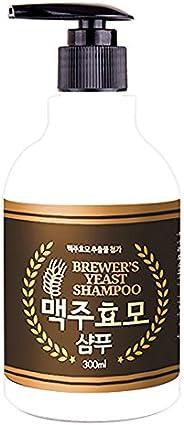 [Jeongwoodang]Brewer 干速酵母洗发水 10.6 盎司/丰富蛋白质/护发素/**来源