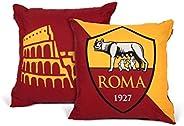 Roma 装饰靠垫,聚酯/棉,波尔多*红色