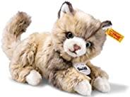 Steiff 露西猫毛绒动物玩具,斑点棕色