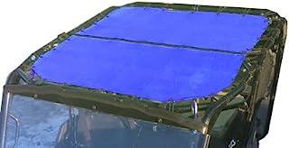 ALIEN SUNSHADE Honda Pioneer 先锋网眼遮阳顶盖 10 年保修期 为您的1000-5 提供紫外线防护(蓝色)