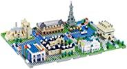 nanoblock - 巴黎世界著名城市,高级爱好系列建筑套件 (NB-047)