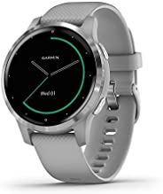 Garmin 佳明 Vívoactive 智能手表010-02172-01 4s 40mm Silver with Gray Band