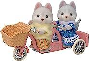 EPOCH [Sylvanian Families 森贝儿家族] 好朋友骑行套装-哈斯基兄妹 DF-15