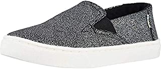 TOMS 儿童 10009918 Alpargata-K Black Iridescent Droplets 5.5 M US 儿童