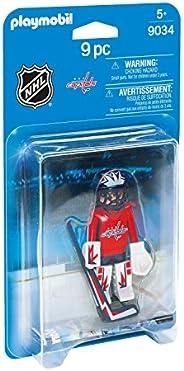 PLAYMOBIL®® NHL 玩具套装 NHL Washington Capitals Goalie Sss