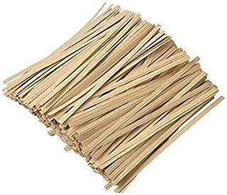 松州山江牛皮纸扎带,用于工艺品、食品袋、园艺等,美丽、干净、方便的牛皮纸领带(1000 件)