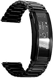Sony 索尼 SONY wena 智能手表 电子货车 搭载Alexa运动量计 支持iOS/Android安卓 wena 3 metal Premium Black WNW-B21A/B