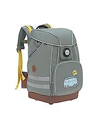 LÄSSIG 书包小学背包带搭扣,反光设计防雨小学 6 岁以上儿童/学校包冒险