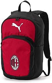 PUMA 男士 Ac Milan 专业训练背包 Tango 红-Puma 黑色 均码