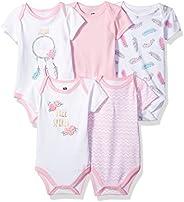 Hudson Baby 婴幼儿棉质紧身5个装