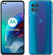 Motorola 摩托罗拉 Moto G100 – 智能手机 128GB,8GB 内存,双SIM,彩虹色 海洋