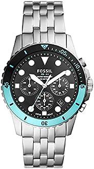 Fossil 手表 FB-01 CHRONO FS5827 男士 银色