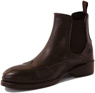 サニーフィールズ 阿尔法线条 メンズサイドゴアブーツ 共2种颜色共3种尺寸雨靴  棕色 S(25cm)
