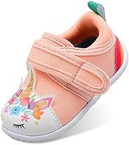 Scurtain 中性款吱吱吱舞鞋,适合男婴、女婴、幼儿运动鞋,适合新生儿、防滑鞋底、幼儿、幼儿、幼儿、学步鞋
