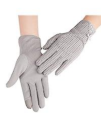 男士夏季駕駛手套棉防滑觸摸屏防紫外線*手套適用于騎自行車露營