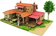 SANKEI 迷你纸模型 吉卜力工作室系列 回忆的玛尼 大岩家 1/150比例 纸模型 MK07-18