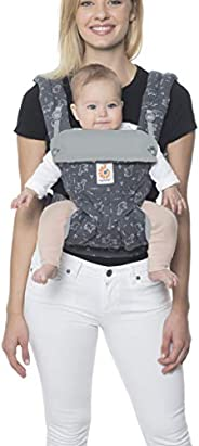 Ergobaby 360 全位置婴儿背带,腰部支撑,12-45磅(约5.44-20.41千克),行李箱向上