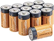 AmazonBasics 亚马逊倍思 碱性电池LR20-12PK D Cell 12-Pack