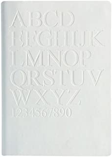 Daycraft 德格夫 旗舰古腾堡系列笔记本 - A6, Times New Roman, 白色