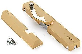 SUGATSUNE Kogyo 世嘉智尼 门用五金件 LAMP LAPCOM阻尼闭门器 平面外装式 LDD-S-LLBR 浅棕色 左外开门或右内开门用
