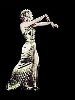 Time Life 玛丽莲·梦露-金色连衣裙 60x80cm 帆布印花,多色
