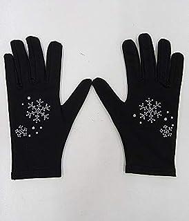 防水滑板用手套 10岁用 雪花