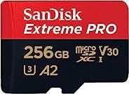 SanDisk Extreme pro 256 GB 微型 SDXC 存储卡 + SD 适配器