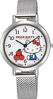 Citizen 西铁城 Q&Q 手表 指针式 Hello Kitty 防水 金属表带 网眼 0031N204 女