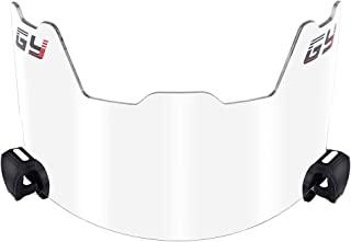 GY 美式足球遮阳板,足球和长曲棍球头盔,带*罩,易于安装,