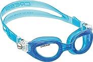 Cressi 科越思 女式 RIGHT SMALL FIT游泳鏡防紫外線uv防霧防碎 DE2013