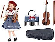 TAKARA TOMY 多美 LICCA 丽佳娃娃 礼服 LW-19 小提琴课