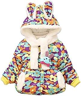 女婴保暖冬季夹克幼儿羽绒外套