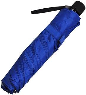 细长三折伞 素色 蓝色 52厘米