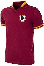 Copa 男式 As Roma 1978-79 复古橄榄球领 T 恤