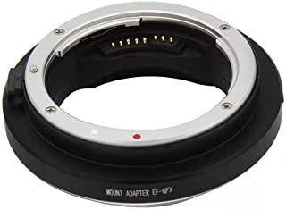 CANMEELUX 镜头适配器环自动对焦镜头安装适配器转换器 (EF-GFX)