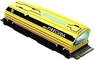 SEAGATE 希捷 FireCuda 520 NVMe PCIe X4 Gen4 SSD,1 TB,NVMe 1.3,m.2 2280 NVMe,PCIe X4 Gen4,高达5000 MB/s,限量版,包括 3 年救