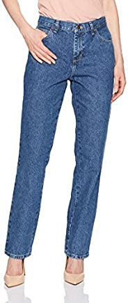 Lee Women's Relaxed Fit All Cotton Straight Leg