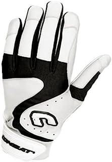 Combat Premium G3 青年棒球垒球击球手套 - 白色黑色