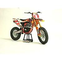 "NewRay 57953 橘色自行车配件压铸复制品玩具 1:10 比例模型红牛 450SX-F Ryan Dungey ""冠军版"""