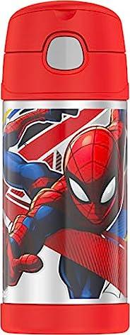 Thermos 膳魔师 Funtainer 蜘蛛侠主题不锈钢保温杯,12盎司/瓶(约354.84 毫升)