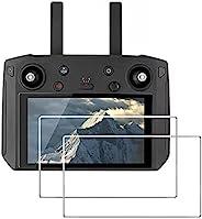 屏幕保护膜兼容 DJI Mavic 2 Zoom/Pro 智能遥控器,debous 0.2 mm 9H 硬钢化玻璃防刮【无气泡】