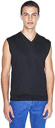 American Apparel 男士彈性羊毛無袖背心