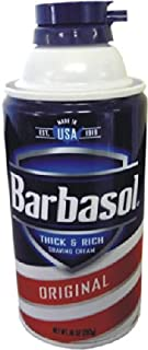 Specialty products 30007c Barbasol 罐装安全